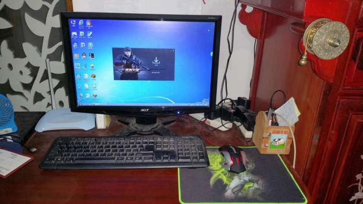 沃野 牧马人3代无声静音加重笔记本台式电脑家用办公 LOL吃鸡CF绝地求生宏电竞游戏鼠标有线 三代牧马人金属底加重黑色(有声版) 晒单图
