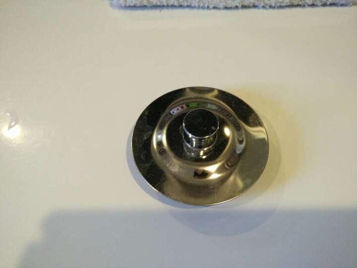 妙记 浴缸塞 浴盆塞子 不锈钢下水塞头 PVC下水管道密封堵盖子 浴缸塞子+密封圈 晒单图