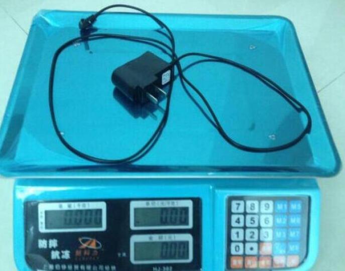 新科力(SINCOLY) 电子秤台秤商用电子计价秤 充电器一个 晒单图