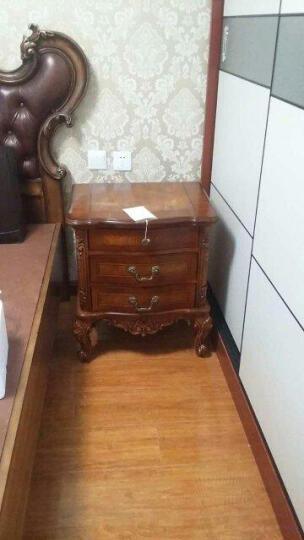 艾理思家具 美式实木床头柜 欧式床边柜  晒单图