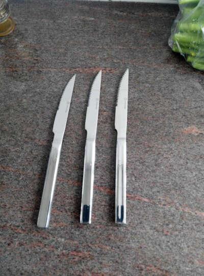出口德国YAYODA不锈钢西餐餐具全套牛排刀叉勺套装 沙律勺21CM单支 晒单图