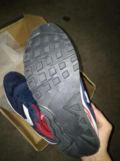 瑞士MATEHOM跑步鞋休闲鞋 男士新款气垫缓震透气舒适耐磨运动鞋男鞋 M377-深蓝 44 晒单图