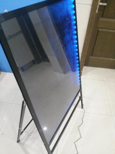 御杰 充电宝可用LED电子荧光板7090支架一体式广告牌发光黑板手写板电子屏 荧光板+大号笔+中号笔+充电宝套装 晒单图
