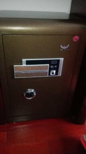 恩特思(netes)3c指纹密码保险柜家用财务专用 恒智办公用保管柜 私密保险箱全钢防盗 100CM高 晒单图