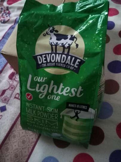 澳大利亚Devondale德运奶粉全脂/脱脂成人儿童婴幼儿牛奶1kg 全脂奶粉1袋(买2袋减5元) 晒单图
