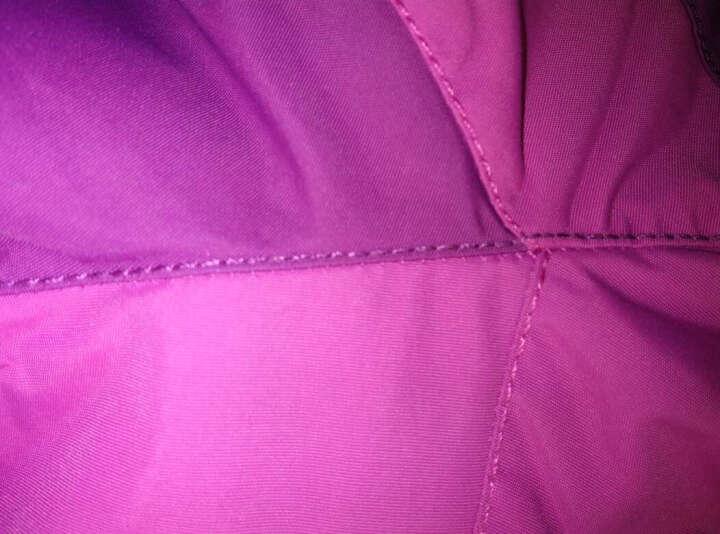 【清仓】安踏女装 秋冬户外系列可拆卸两件套 抓绒衣 防风保暖 96546670 艳洋红-3 L/170 晒单图