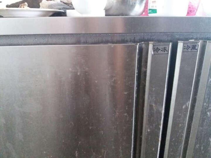 乐创(lecon)冷藏工作台商用冷柜操作台冰柜保鲜冷藏操作台冷冻冰柜厨房卧式冰箱双温不锈钢平冷水吧台 蓝光版1.2米宽度可选 全冷冻 晒单图