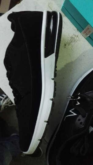 卡帝乐鳄鱼(CARTELO)休闲鞋男鞋小白鞋休闲运动鞋子男士单鞋韩版潮鞋系带板鞋男 白色2116 42 晒单图