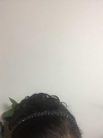 奥丝儿(aosier) 奥丝儿九朵花爪夹假发圈女生盘发古装新娘丸子头假发发包抓夹花苞头 棕黑色 晒单图