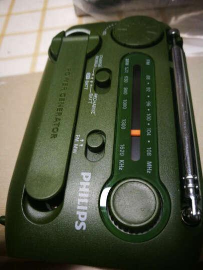 飞利浦(PHILIPS)AE1120/93 便携多功能收音机 自供电半导体 手摇发电 USB充电 内置报警器 旅友之选 晒单图