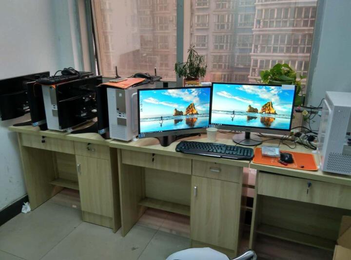 百维视(BEWISER) 百维视显示器支架臂电脑屏幕桌面底座升降旋转免打孔(S1) DMA-600A黑色 桌边夹固定底座 厂家直销 晒单图