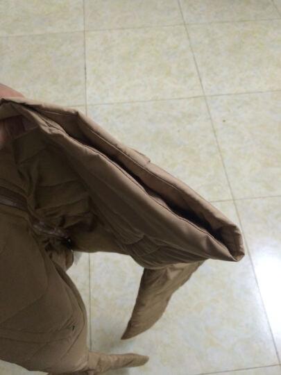【京东自营,卡帝乐鳄鱼加厚保暖羽绒服】卡帝乐鳄鱼羽绒服 男加厚保暖男士羽绒服 卡其 XL 晒单图