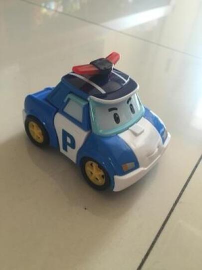 银辉Silverlit变形珀利警车救护车直升机消防车poli汽车模型卡通人偶摆件儿童玩具 学校巴士储存箱83148 晒单图
