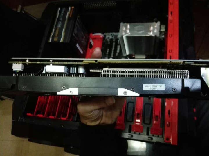 酷冷至尊(Cooler Master) T400i CPU 散热器(支持I9 2066平台/4热管/ PWM温控/LED风扇/背锁扣具/直触热管) 晒单图