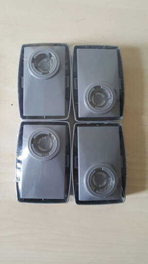 3M 7093 P100级高效滤尘盒 防工业极细粉尘核放射尘玻璃纤维防护滤尘盒 7093滤尘盒(1包4个) 晒单图