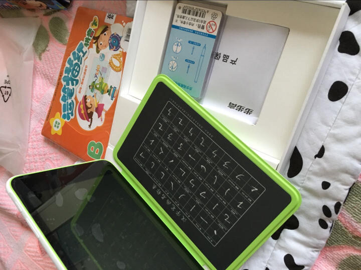 步步高家教机kids 绿色 16G  智能写字板 儿童平板 安全护眼 学生平板电脑 学习机 英语点读机点读笔早教机 晒单图