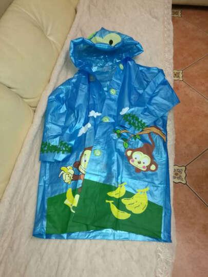 正招(kendo)儿童雨衣带书包位小学生雨披小孩卡通雨衣 R1粉色卡通XXL码 晒单图