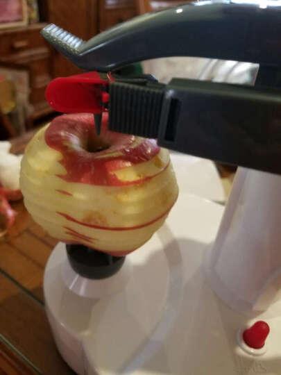 巧工坊 全自动多功能电动削皮机 刨皮机削皮器 水果土豆蔬果去皮机分切器削苹果神器 白色 晒单图