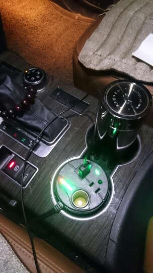 爱装酷 逆变器 车载逆变器点烟器 一拖二双USB车载充电器杯充12v转220v车用逆变器 二合一款-无转220v功能 东风 晒单图