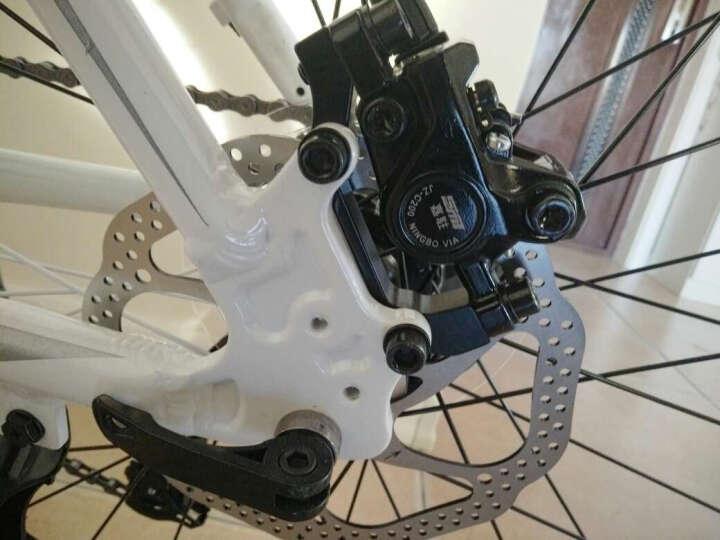 捷马(GAMMA)26寸铝合金山地自行车禧玛诺24/27变速油碟成人男女青少年学生越野单车雷鸣系列 27速6.0版-黑色 26 晒单图