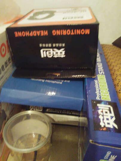 客所思PK-3  外置电音声卡套装 电脑专用网络K歌电容麦克风录音设备 声卡+麦克套件+监听耳机 晒单图