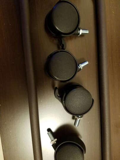 择木宜居 台式电脑主机托主机架底座托盘可移动机箱托 乳白色-升级版 晒单图