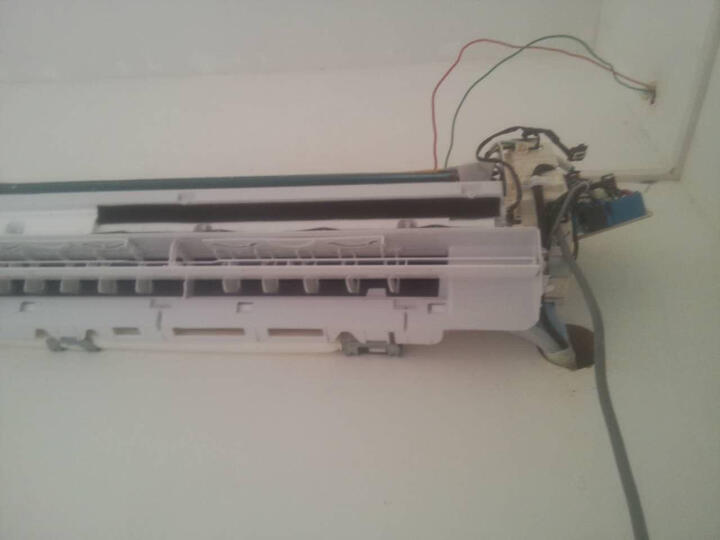 [晒单帖]外机压缩机的线和风机线接错