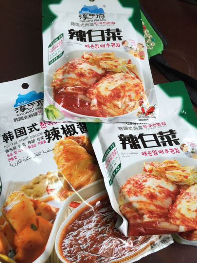 淳于府韩式辣椒酱200g 可做石锅拌饭 炒年糕 韩国泡菜 1袋 晒单图