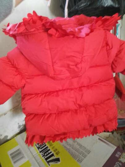 贝乐聪 儿童羽绒服女童棉衣棉服宝宝冬装新款加厚小孩衣服1一2两-3-4-5周岁半 藏蓝色 90码建议身高80-90cm 晒单图
