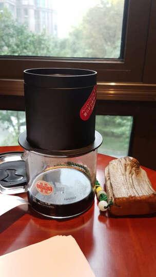 HARIO-日本原装进口咖啡壶法兰绒布过滤咖啡壶套装 配法兰绒布和量勺 DPW系列咖啡器具 480ml黑色原木 晒单图