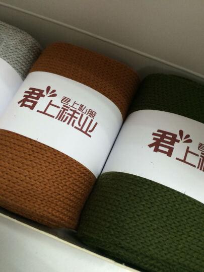 君上韩国袜子女全棉日系堆堆袜夏季秋季女袜中筒袜加长袜学生薄款短袜 粉色4双 晒单图