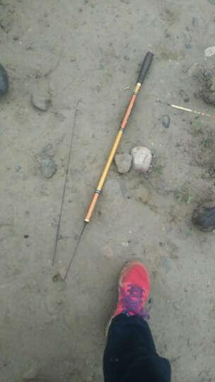 刀客(ONLON) 刀客手竿正品钓竿鱼竿溪流竿3.6/4.5/5.4超轻硬碳素渔竿钓鱼竿 玛瑙黑4.5米+香槟色6.3米送礼包 晒单图
