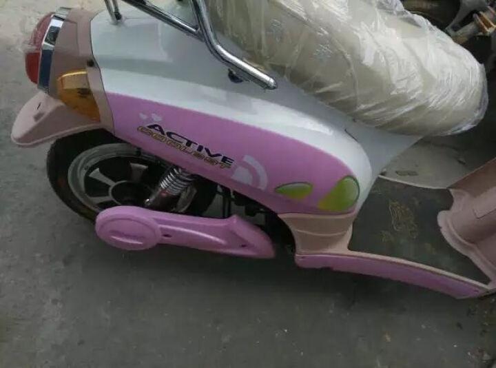 凤燕 电动车 电动自行车 电动踏板车 木兰 48V 12A20A 裸车不含电池不含充电器20A车架 晒单图