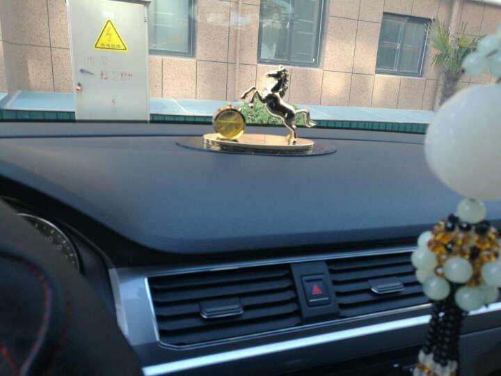 FLAMBO【法兰博】汽车香水座摆件马到成功高档创意车载车用香水车内饰品摆件时尚男女轿车用 梦幻水晶壶-尊贵金-时尚钟表 晒单图