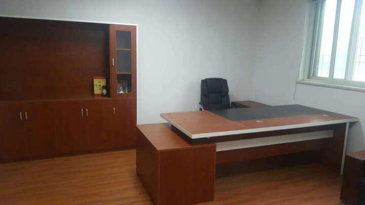 赣康(GANKANG) 办公家具办公桌上海总经理桌板式主管桌电脑桌大班台总裁老板桌接待桌 10门文件柜 晒单图