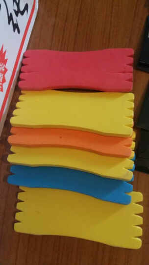 国杰睿鑫 钓鱼线绕线板 主线板 鱼线板 小线板 缠线板 仕挂板 泡沫板渔具 5个 晒单图