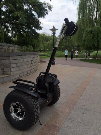恒立通(HLT) 恒立通两轮电动平衡车越野平行车思维车智能体感代步车双轮车大轮子代步神器 黑色越野铅酸36v 晒单图