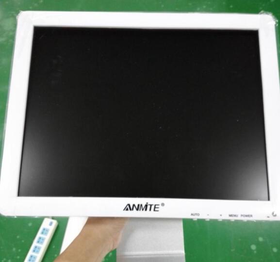 安美特(anmite) 15英寸液晶电脑显示器 LED监视器hdmi 15英寸BNC监控器 白色VGA接口 晒单图