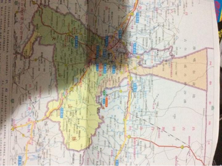 中国分省系列地图册:新疆维吾尔自治区地图册(2014年) 晒单图