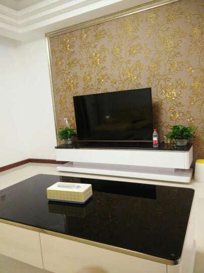 派林隆 电视柜组合简约钢化玻璃客厅小户型客厅家具(1.2.3号小柜单独购买不包安装) 1.75-2.6可伸缩电视柜 晒单图