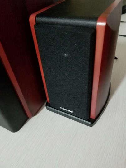 全微(transwin) K6 台式一体化2.1有源多媒体音箱/音响 2.1声道电脑音箱一体机 红木纹     晒单图