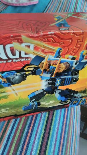 LEGO乐高积木拼装拼插玩具 男孩玩具幻影忍者系列 泰坦机器人大决战70737 晒单图