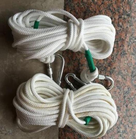 泰东安 户外登山绳攀岩绳缓降器救生绳非逃生专用绳 90米 晒单图