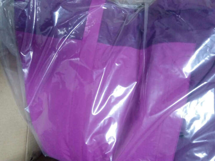 探路者(TOREAD)户外秋冬男女防水透湿套羽绒冲锋衣KAWE91581/92582 桔梗紫/桑紫色-女 M 晒单图