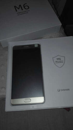 【新年货】金立M6 摩卡金 4GB+128GB版 全网通4G手机 双卡双待 晒单图