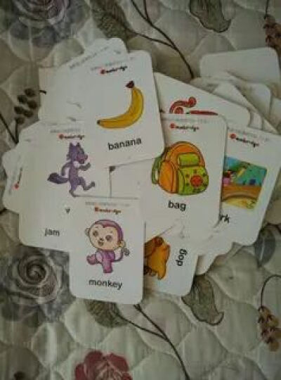 剑桥幼儿英语学习卡(套装共3册) 晒单图