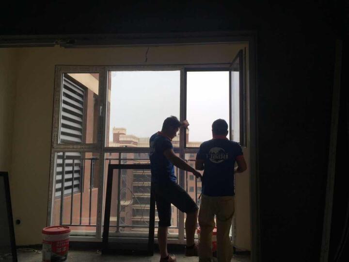 门窗港 北京断桥铝门窗封阳台 广州铝合金窗户隔音窗 铝包木隔音窗户 深圳阳光房封露台金刚网窗纱一体 坚美70系列定金 晒单图