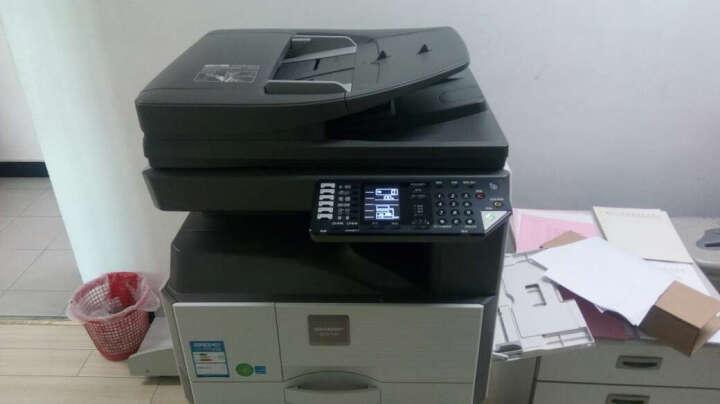 夏普(SHARP)AR-2048    复合机A3激光打印机复印扫描一体机. 2048D带双面+输稿器 双层纸盒+机柜 晒单图