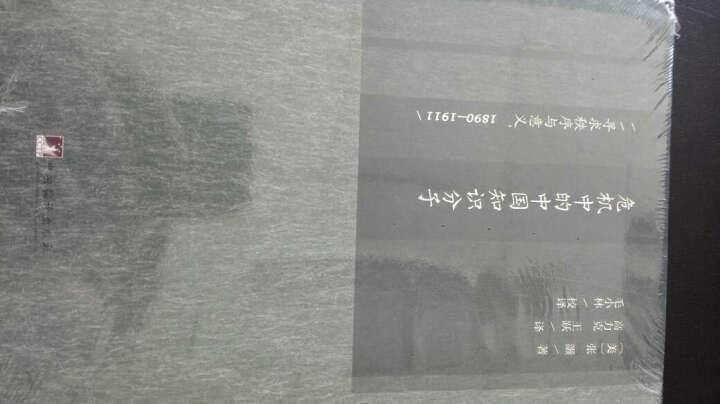 危机中的中国知识分子-寻求秩序与意义.1890-191 晒单图