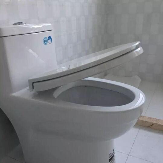 马桶 缓降马桶盖板坐便器节水座便器马桶